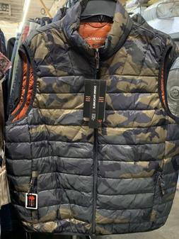$100 Hawke & Co. Outfitter Men's Packable Down Puffer Vest