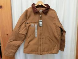 Carhartt 103828 Washed Duck Detroit Jacket Brown