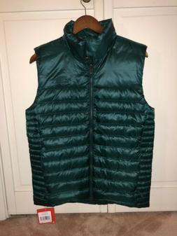 $120 NEW! The North Face Men's Flare Puffer Vest 550 Fill Si
