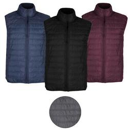 1826 Sport Men's Mock Neck Quilted Puffer Vest