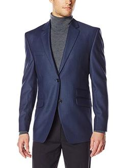 Perry Ellis Men's 2 Button Side Vent Suit Separate Jacket, B