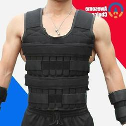 30KG Body Weight Vest Boxing Accessories Gym Vest Men Weight