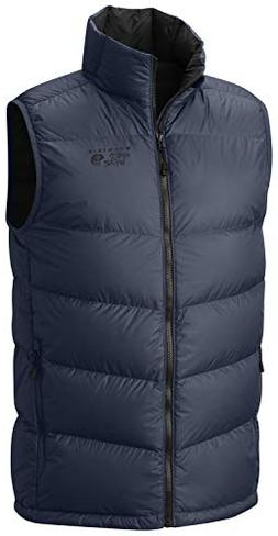 Mountain Hardwear Ratio Down Vest - Men's Zinc, XL