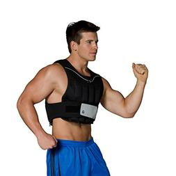 20-lb Unisex Adjustable Weighted Vest - GOFIT