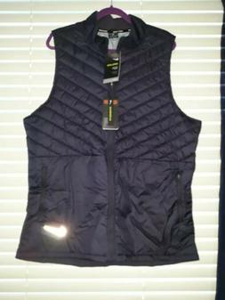 Nike Aerolayer Insulated Running Vest Mens Full Zip Thermore