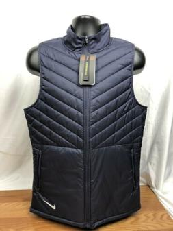Nike AeroLayer Running Vest Mens M Navy Blue