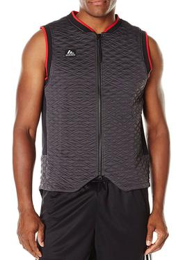 adidas Men's Basketball League Vest, Large, Utility Black