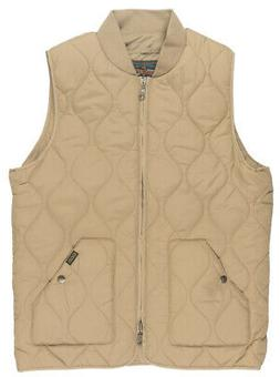 Grizzly Griptape Big Game Zip Up Quilted Vest Outerwear Jack