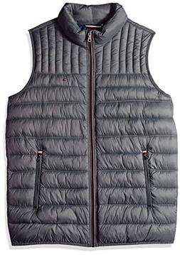 Tommy Hilfiger Men's Big and Tall Lightweight Down Quilted P