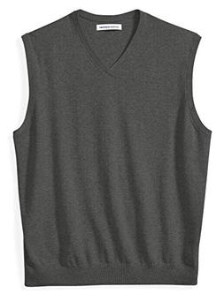 Amazon Essentials Men's Big and Tall V-Neck Sweater Vest, Ch