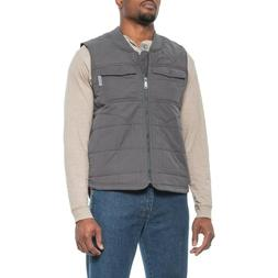 Wolverine Boulder Men's Quilted Canvas Insulated Vest - XL