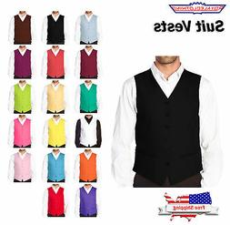 CONCITOR Brand Men's Dress Vest Waistcoat for Suit or Tuxedo