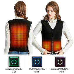 Tomorrow Sun Shine Electric Heated Vest Gilet Women Heating