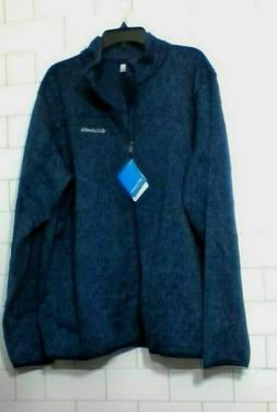 Columbia full zip fleece top Gable Peaks mens size XXL brand