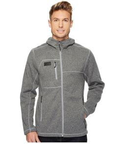 The North Face Gordon Lyons Full Zip Hoodie Grey Size Men's
