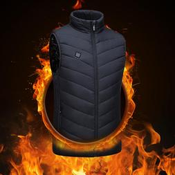 heated jacket <font><b>Vest</b></font> USB <font><b>Men</b><