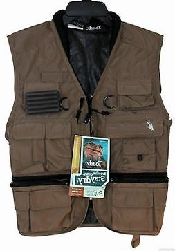 Frogg Toggs Hellbender ToadSkinz Pack Vest, Large, Stone