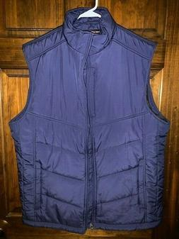 Port Authority J709 Mens Medium Blue Puffy Vest NEW With Tag