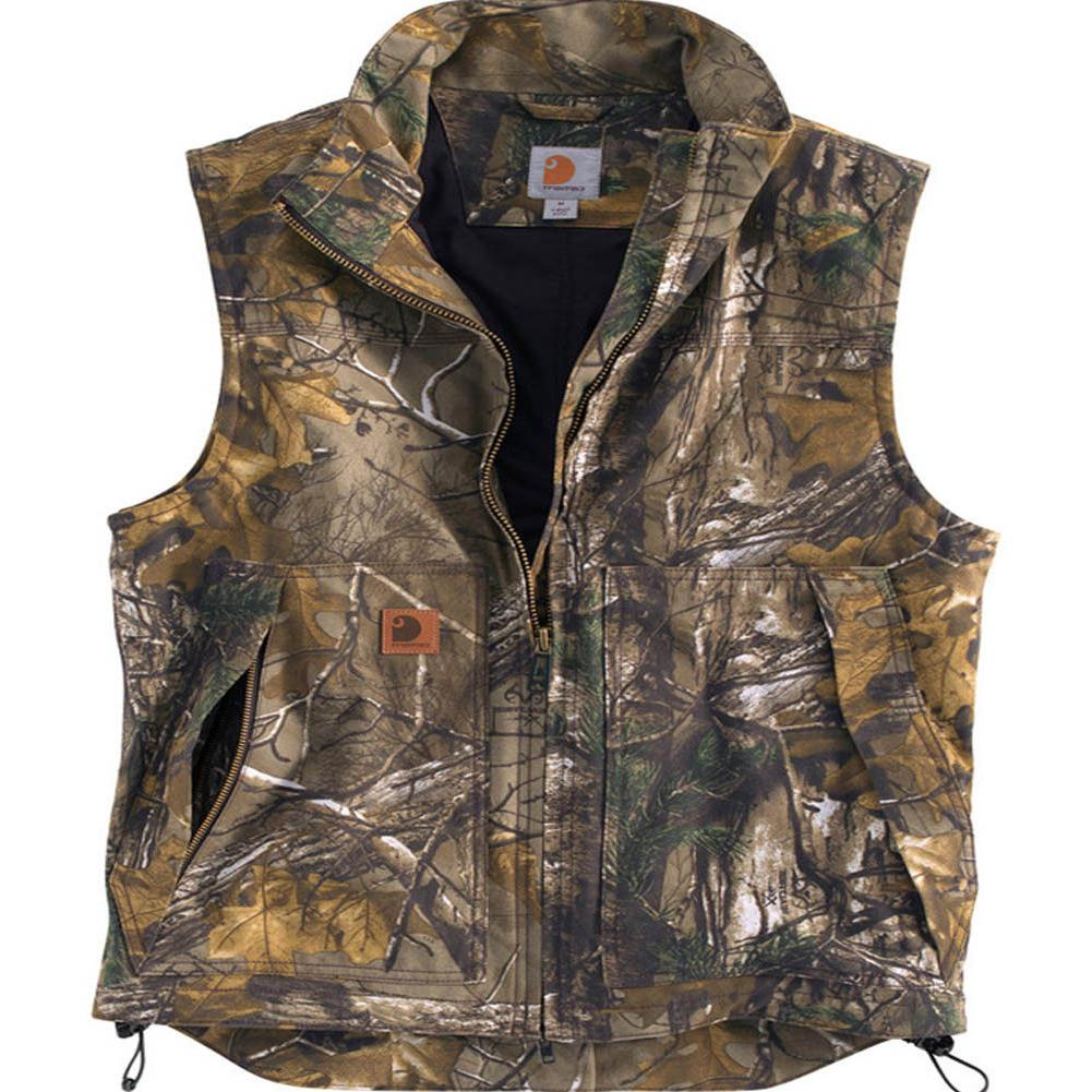 Carhartt 101686 -  Men's Quick Duck Camo Quilt Lined Vest -