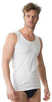 OCTAVE® 2 Pack Mens Soft 100% Combed Cotton Classic Vests E