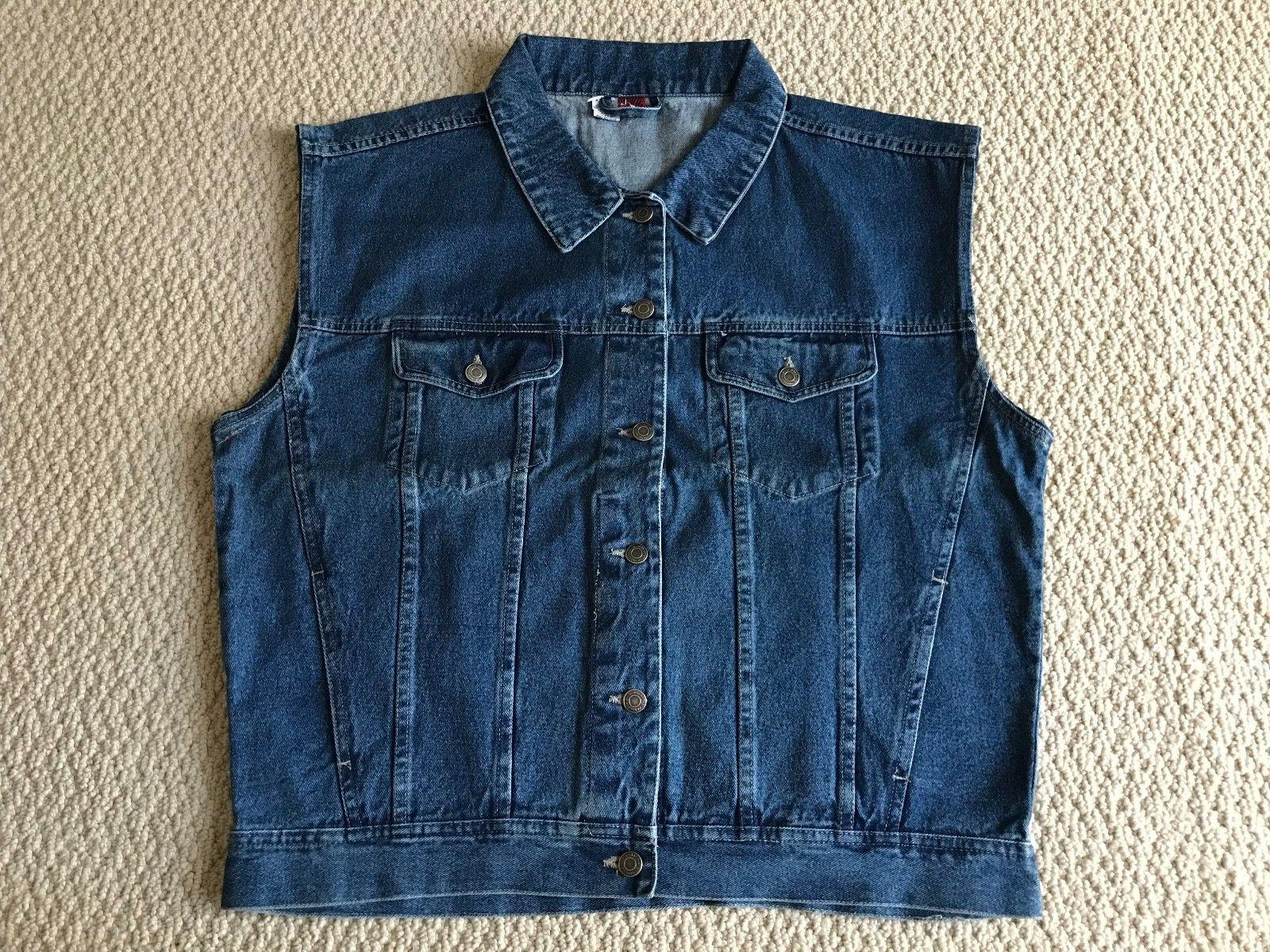 Brand New Men's Star Brand Medium Blue Classic Jean Denim Ve