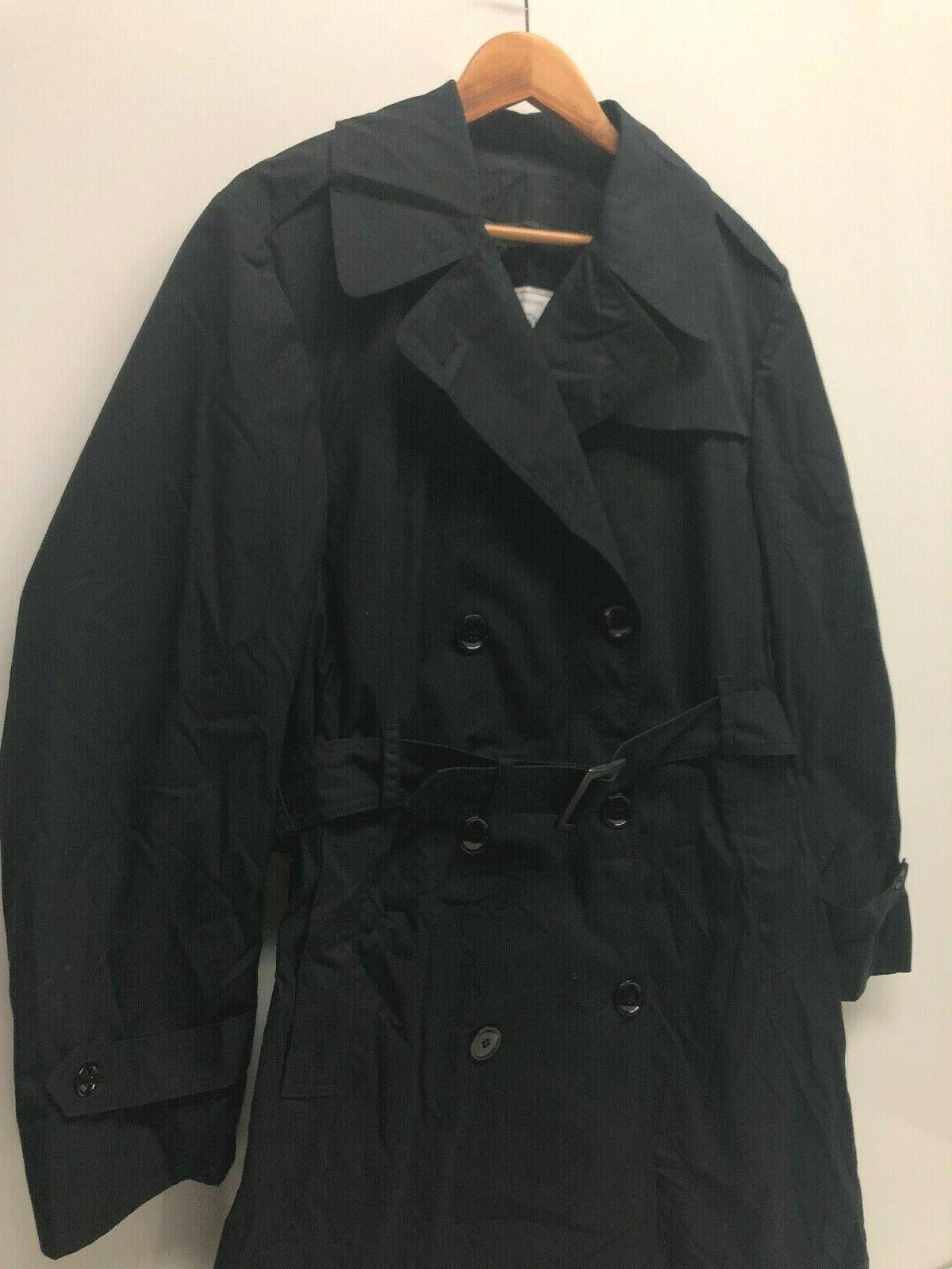 DPSC American Apparel Men Trench Coat Weather XS Military