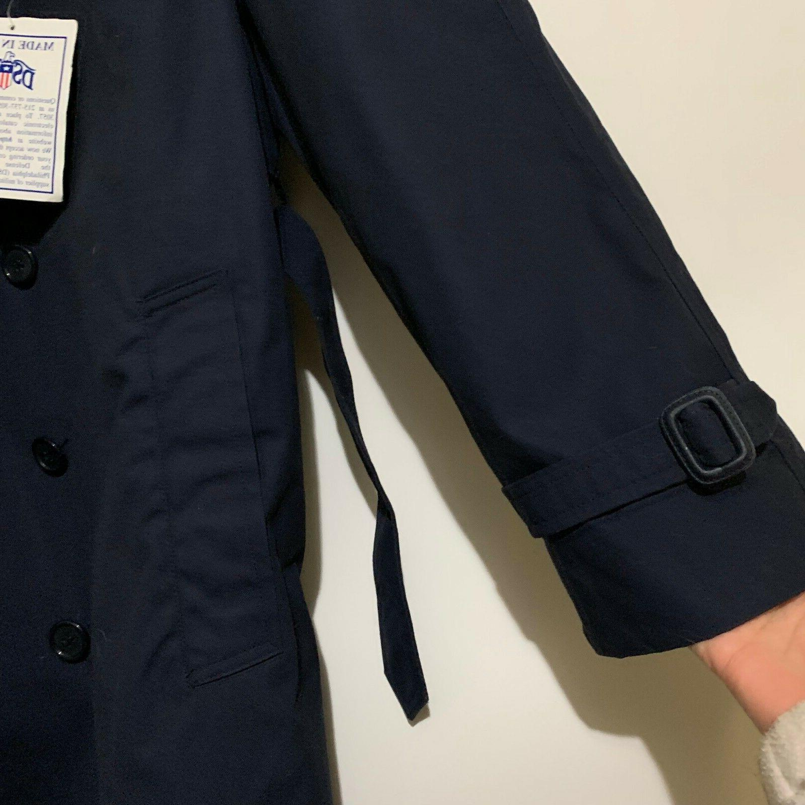 DSCP Apparel Collection Blue Coat 42S Mens Trench