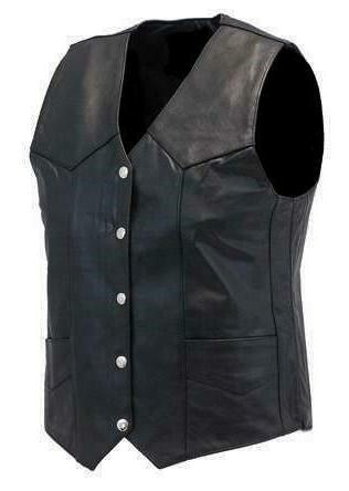 men classic motorcycle biker concealed carry black