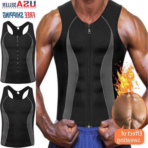 Men Gym Neoprene Shirt Shaper Tank