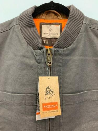 Legendary Whitetails Men's Canvas Cross Trail LARGE Tall NWT
