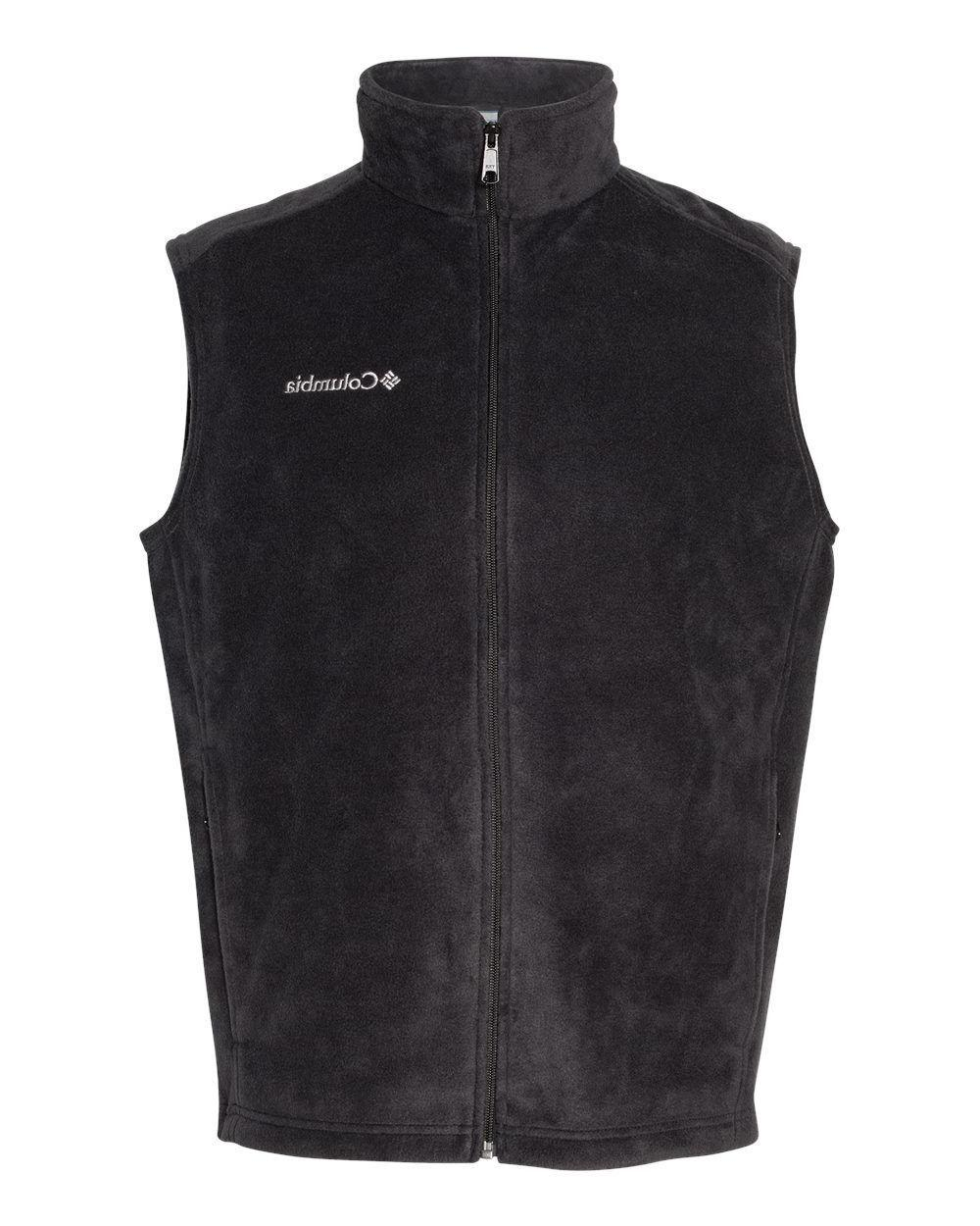 Columbia Full Zip Men's Fleece Vest, 163926 6747
