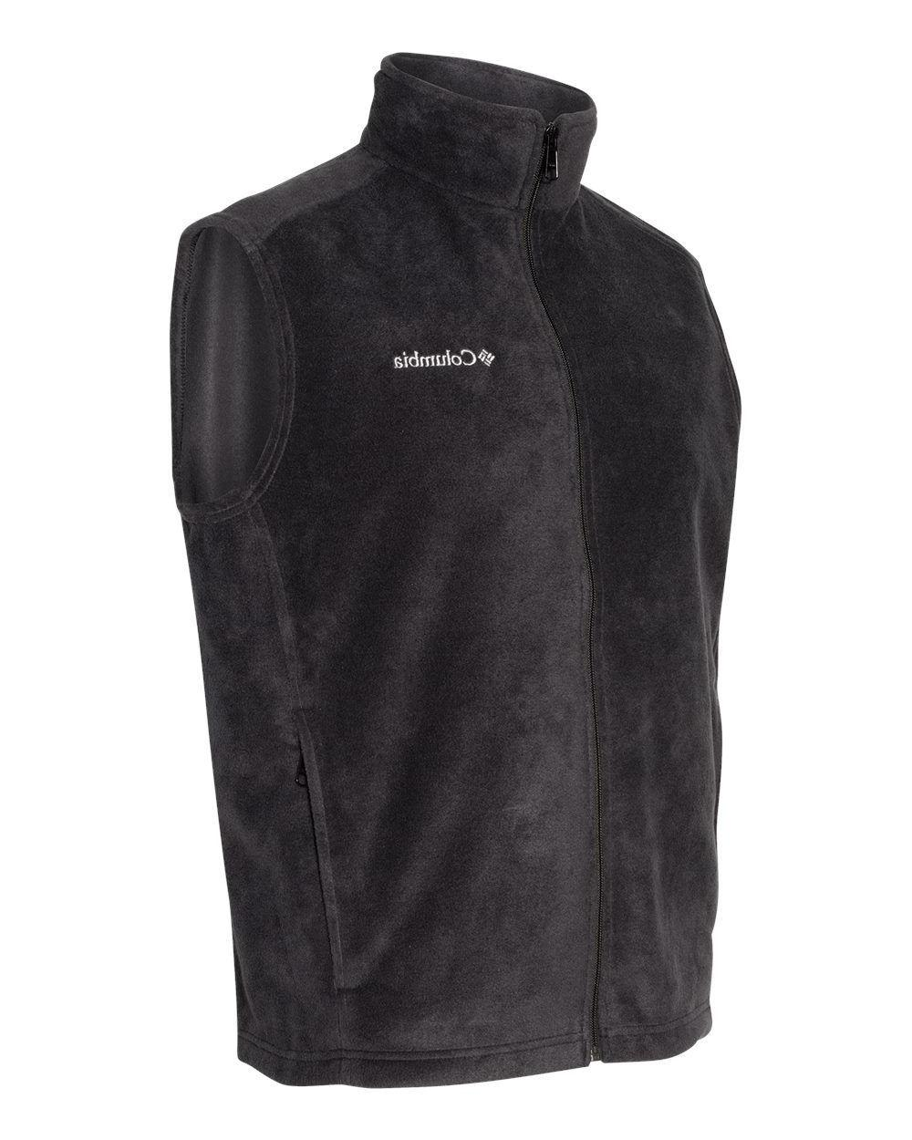 Columbia Zip Men's Fleece Vest, 163926
