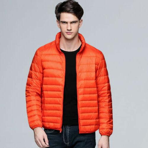 Men's Thick Outerwear Hooded Puffer
