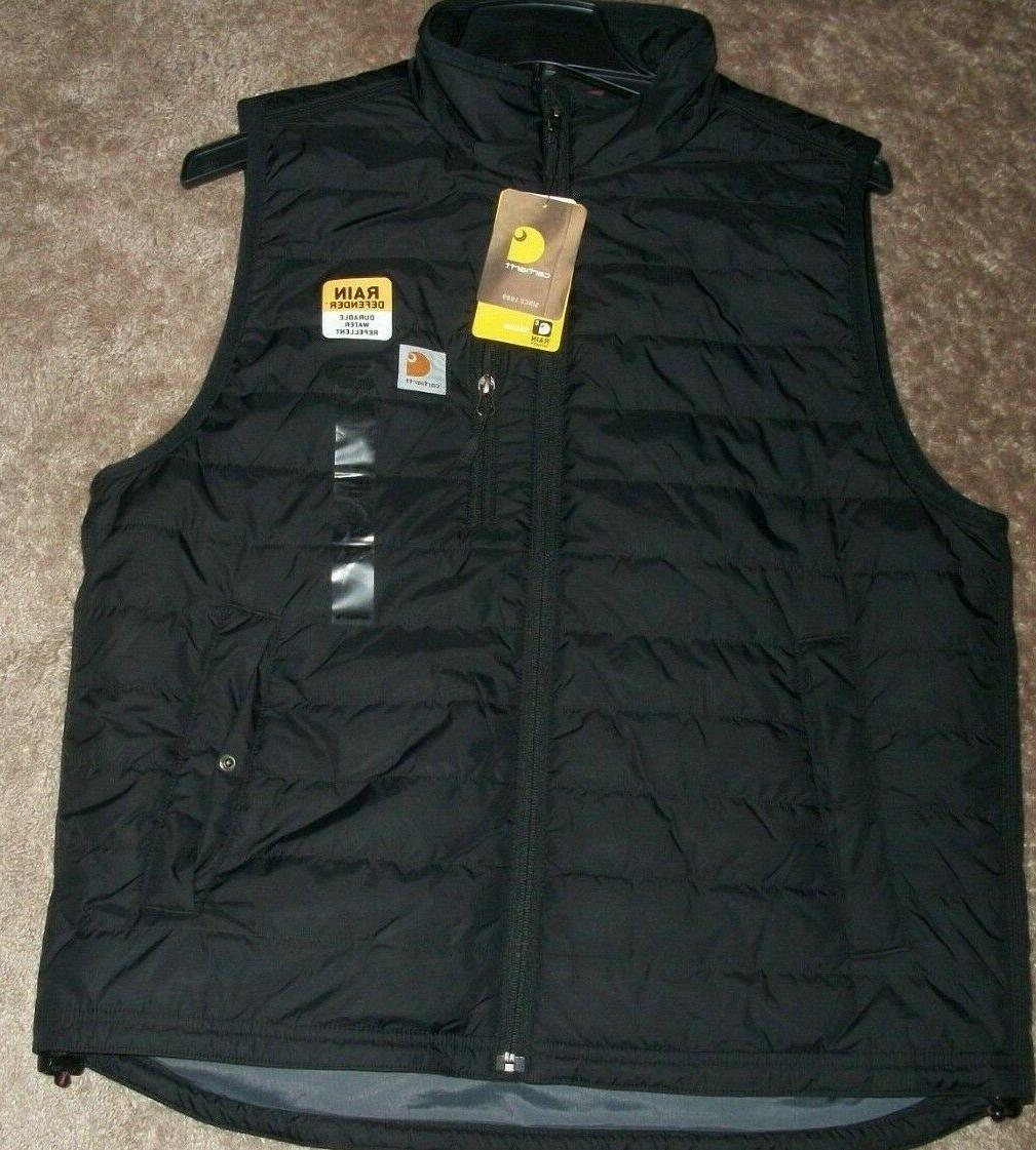 men s rain defender gilliam vest black