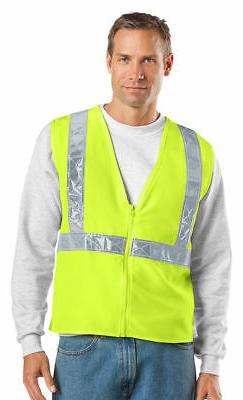 Port Authority Men's Reflective Taping Polyester Work Gear S