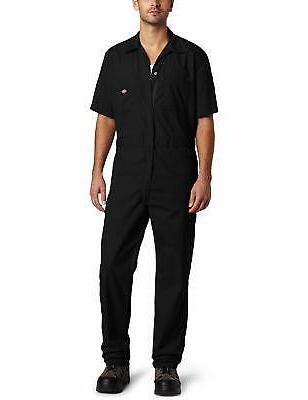 men s short sleeve work uniform coverall