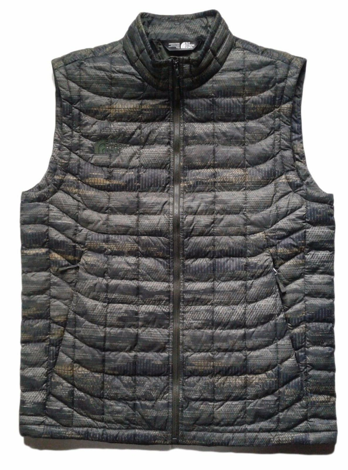 men s thermoball insulated vest green glamo