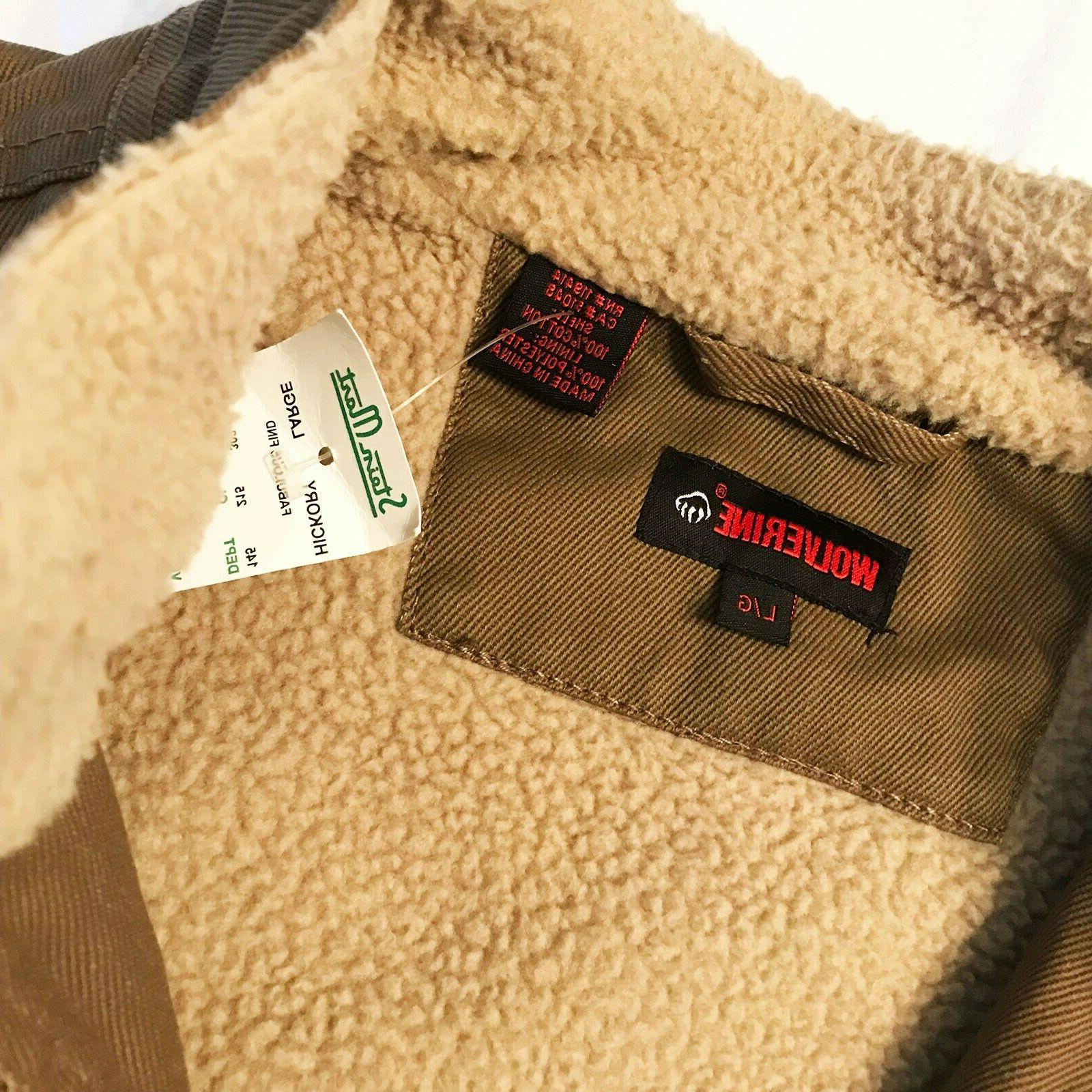 Wolverine Sherpa - With Tags