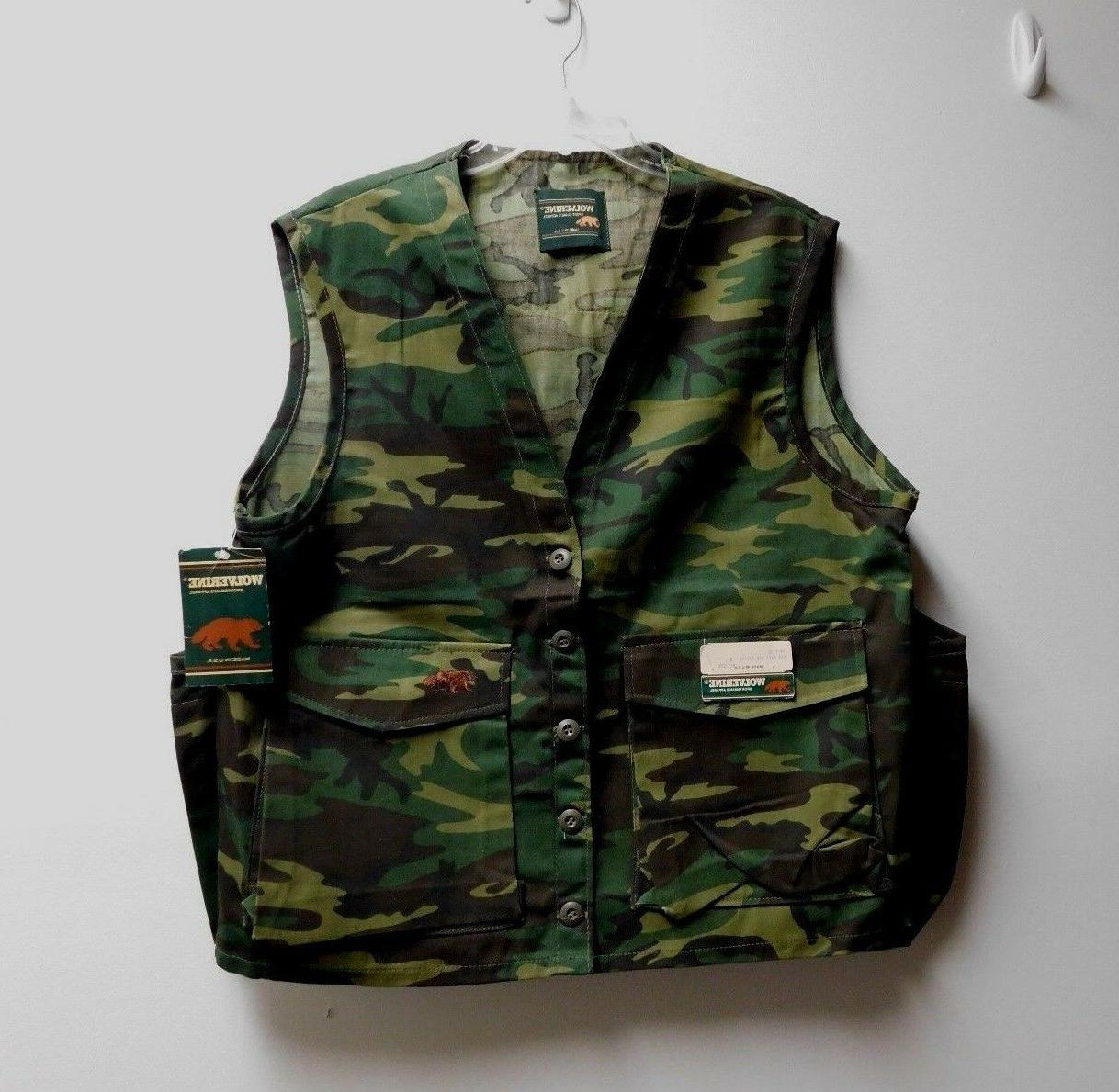 WOLVERINE LARGE HUNTING VEST USA WITH