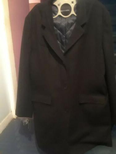 Structure top coat BLK ,X XL with R/M , brand new