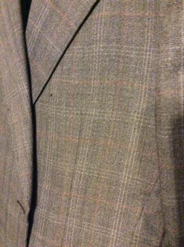 Mens Coat Suit With Matching Vest By Collins.