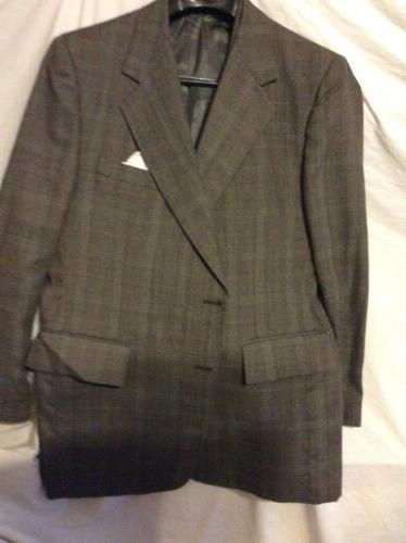 mens coat suit with matching vest by