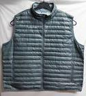 Mens COLUMBIA Gray Flash Forward DOWN VEST Size 4XL
