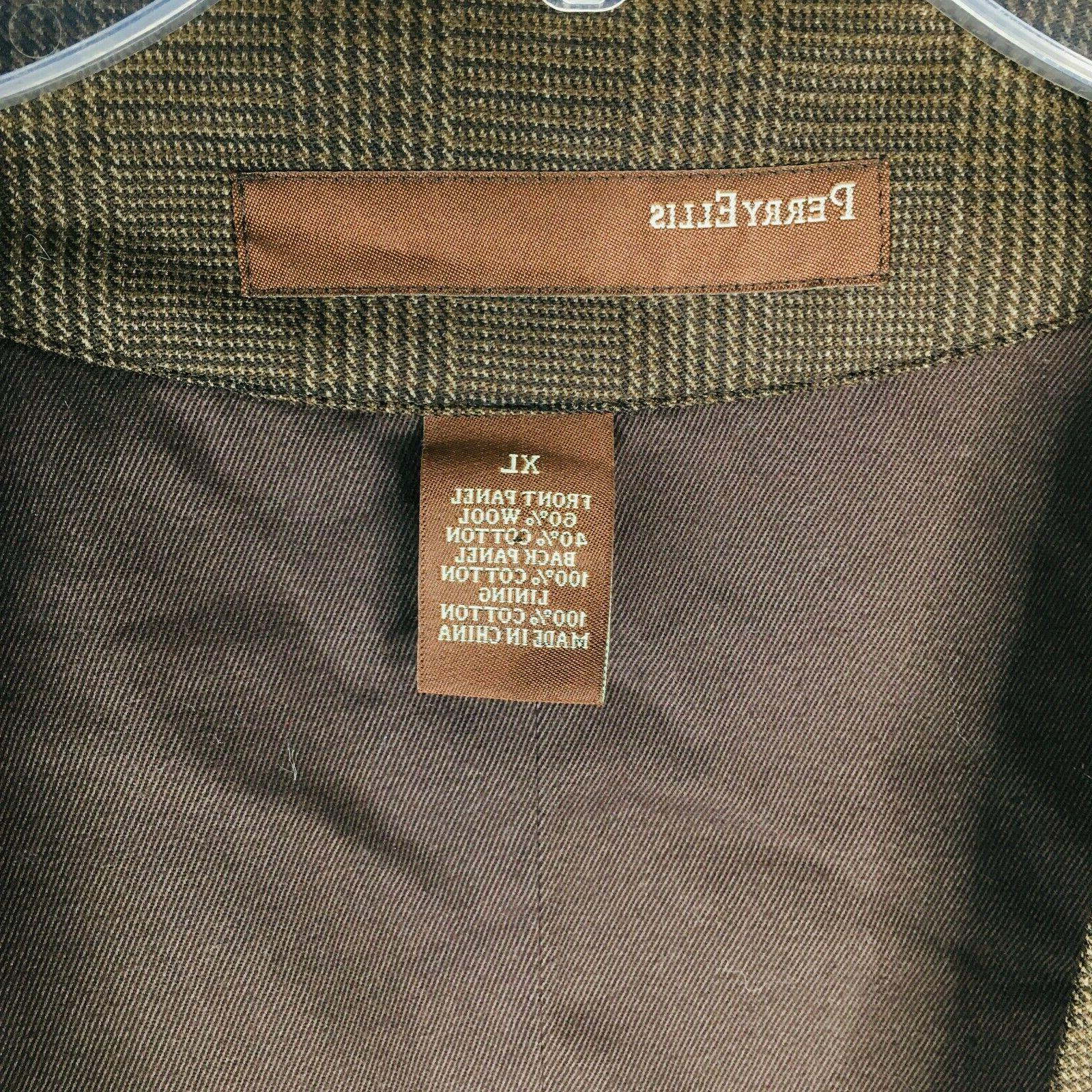 Perry Vest Stripe Chocolate Button Pocket