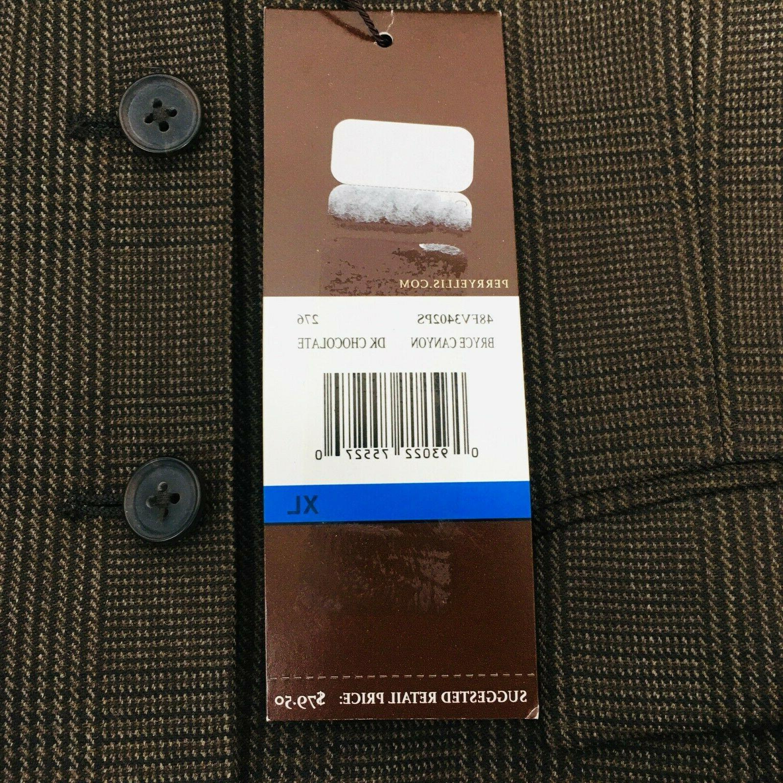 Perry Vest Stripe Dark 5 Button Pocket