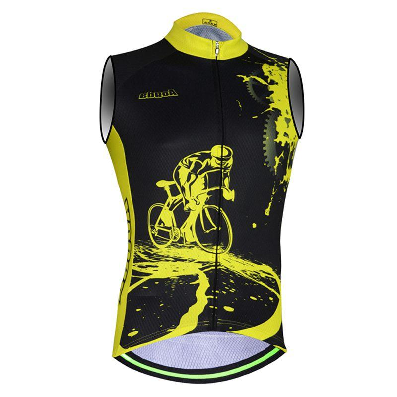 New Cycling Shirt Sleeveless Breathable Sweat-proof <font><b