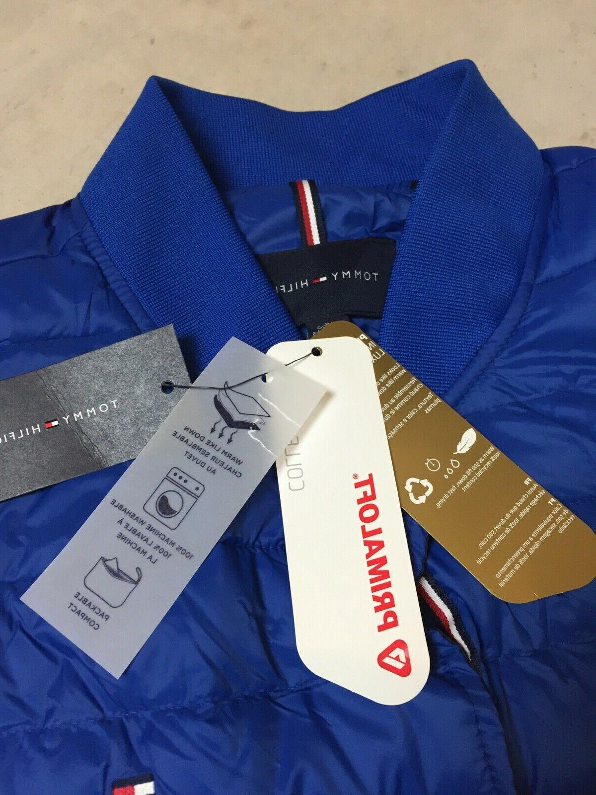 New Tommy Hilfiger Insulator Quilted jacket blue