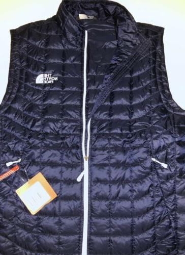 NWT MEN THERMOBALL URBAN NAVY VEST AUTHENTIC