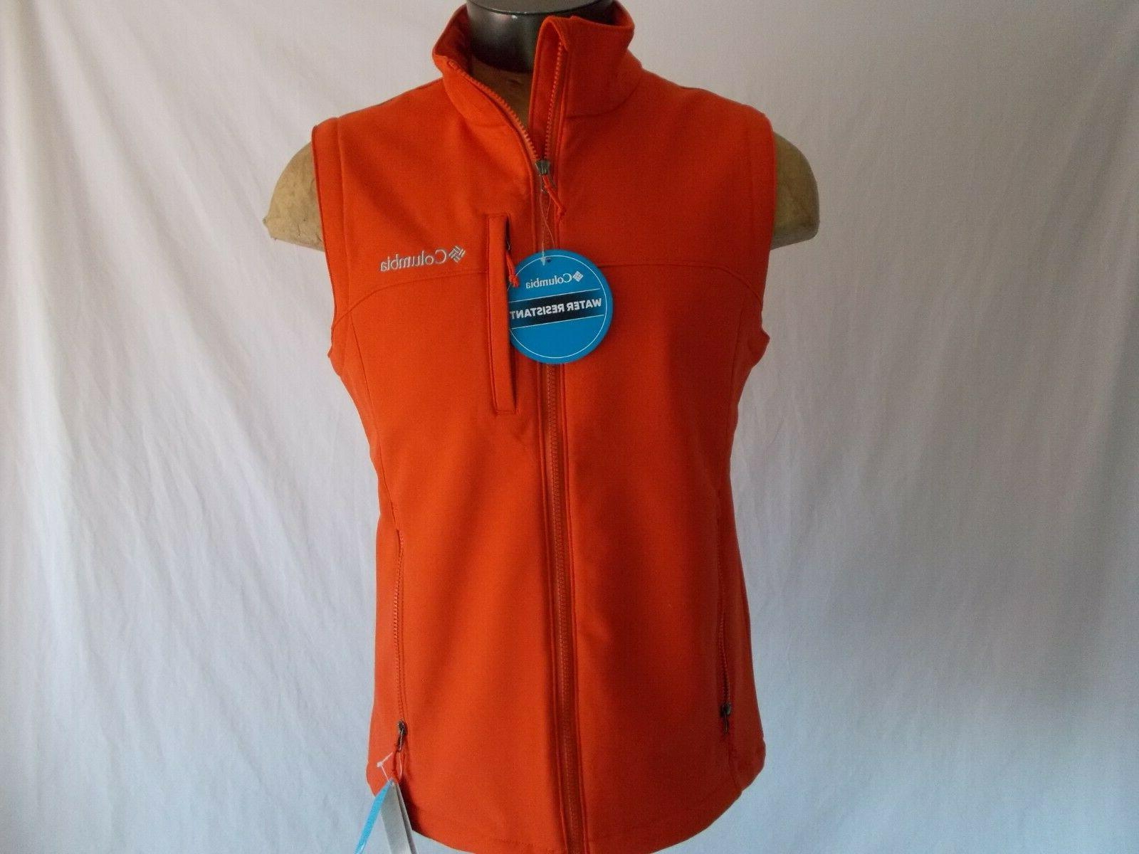 nwt reed lake exs softshell vest water