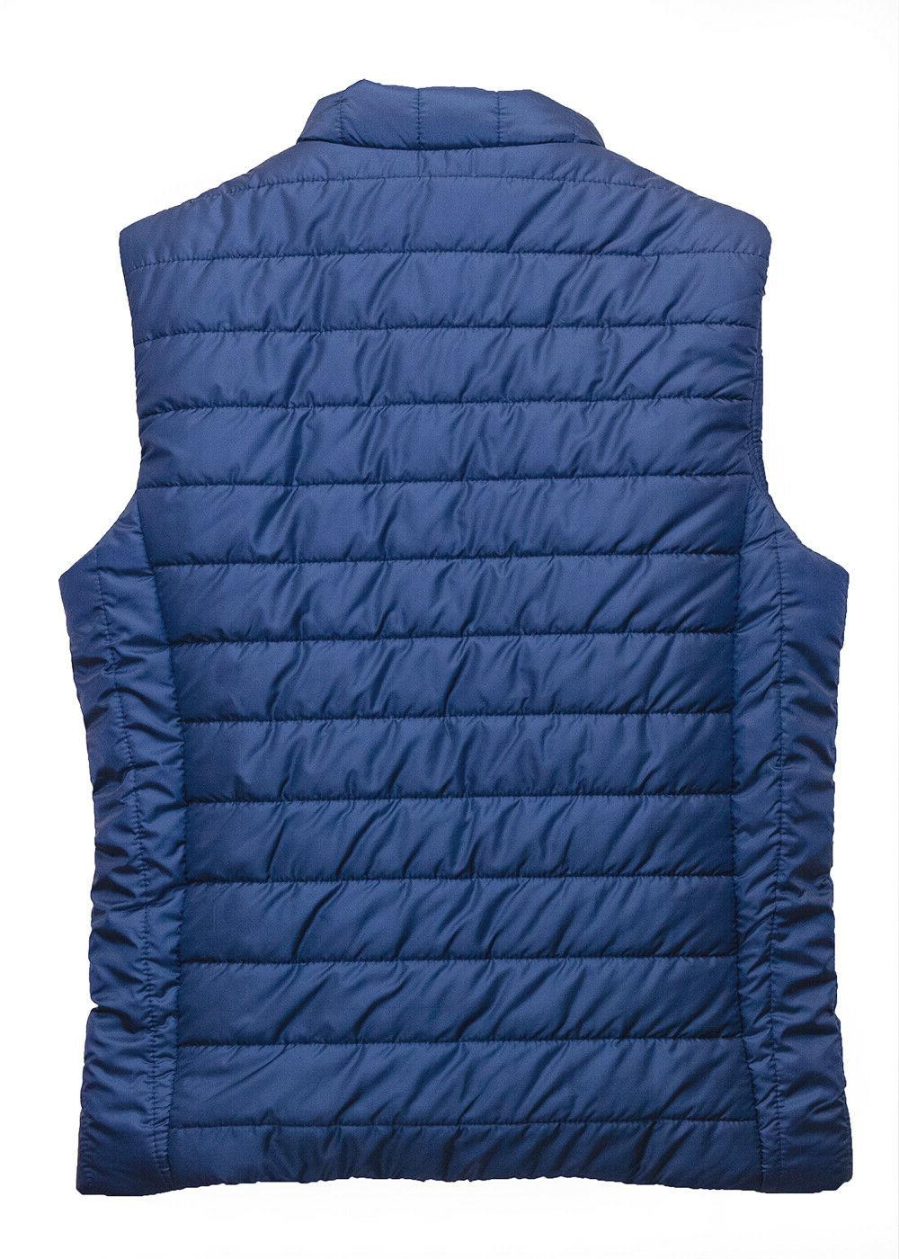 Puffer Vest Water Quilted Sleeveless Winter